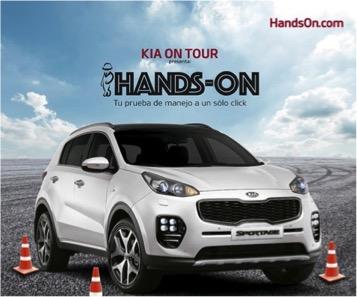 """Hands – On"" la plataforma interactiva de KIA Motors México"