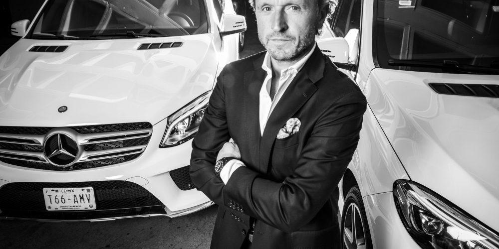El Sr. Radek Jelinek nuevo CEO de Mercedes-Benz Italia, deja México en septiembre
