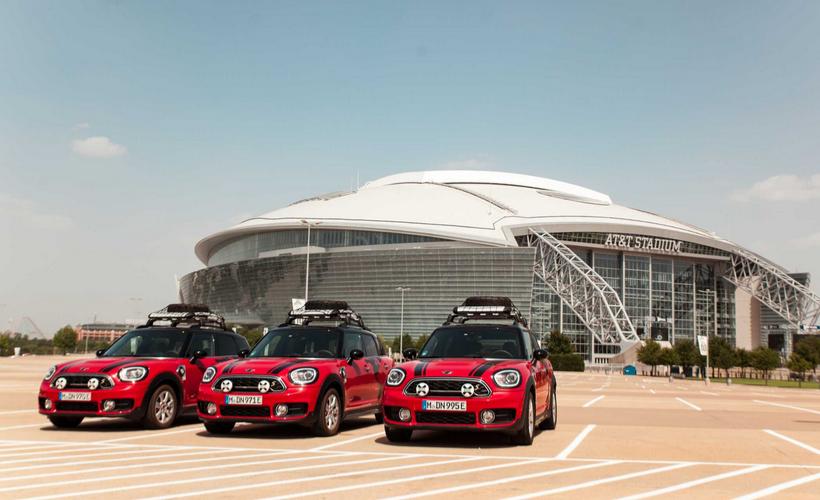 Tres MINI Cooper S E Countryman ALL4 viajan de Texas a Argentina