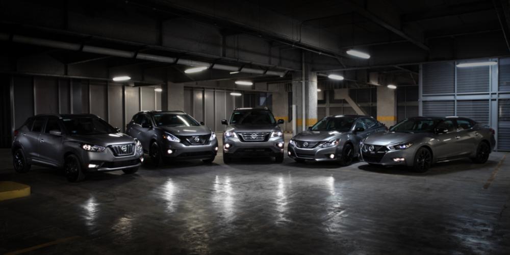Nissan se adueña de la noche, lanzando la gama 'Midnight Edition' en México