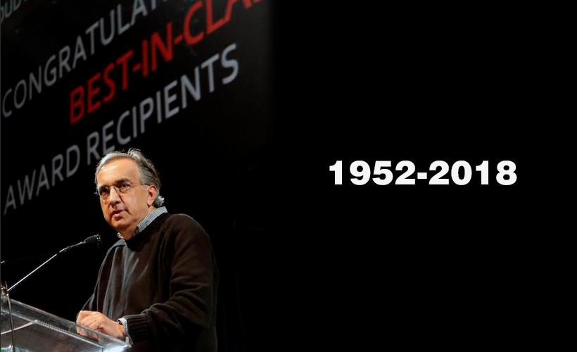 Sergio Marchionne, fallece a la edad de 66 años