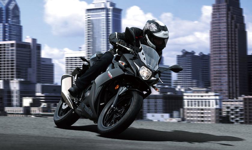 Con Suzuki GSX250R llega más lejos y conquista cualquier camino