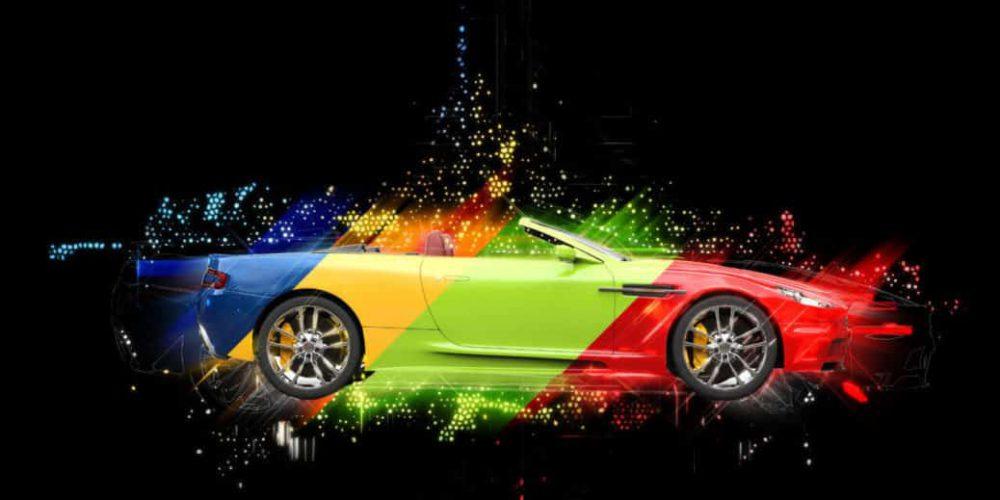 Colores que seguirán estando de moda en la industria automotriz hasta el 2019