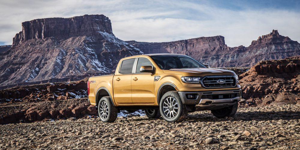 Ford le pone precio a la nueva Ranger en Estados Unidos