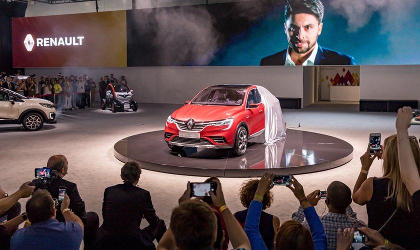 Renault Arkana, un nuevo crossover presentado en Moscú para el mundo