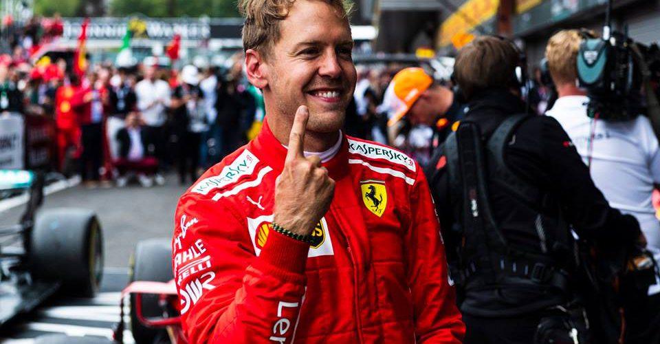 Dominante victoria de Sebastian Vettel en Spa-Francorchamps