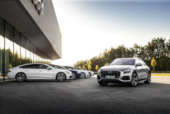 Con el Audi Q8, la firma alemana completa la gama de SUV de tamaño grande