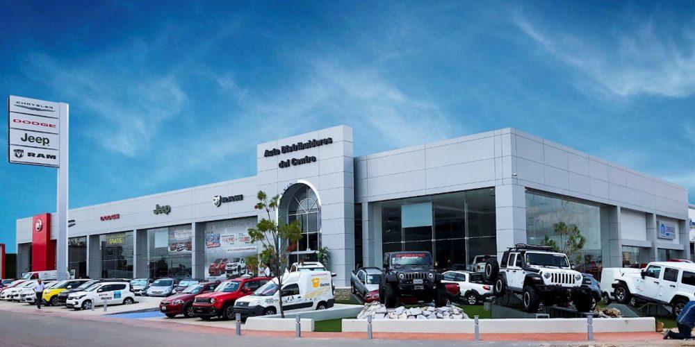 FCA México inaugura nuevo mall automotriz en Aguascalientes