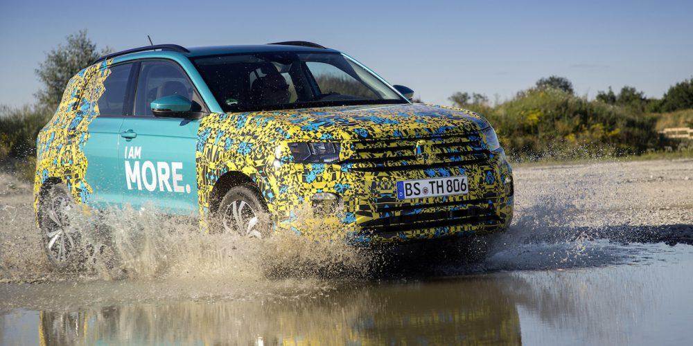Volkswagen T-Cross, a punto de ver la luz