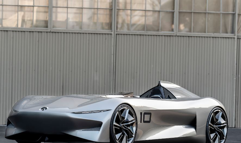 INFINITI Prototype 10: conducción, desempeño y rango extendido de autonomía