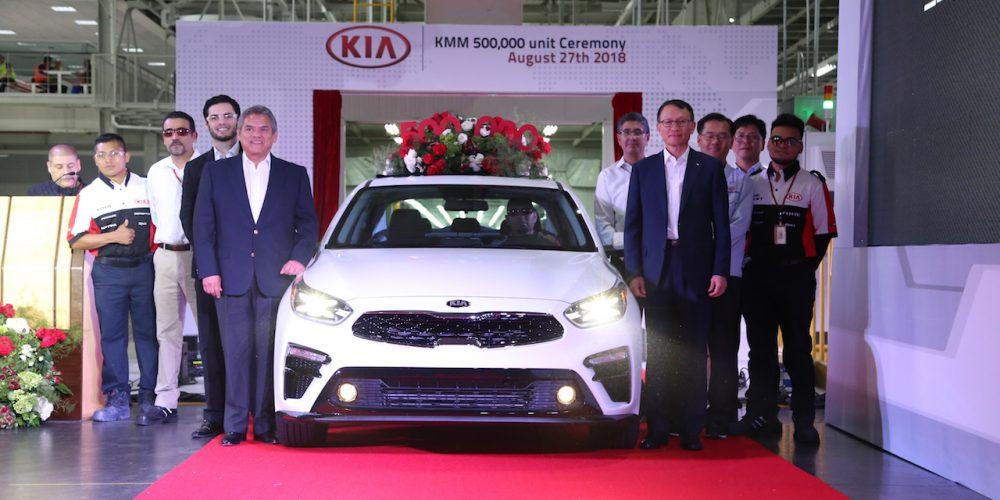 KIA logra producir 500 mil autos en México en dos años tres meses