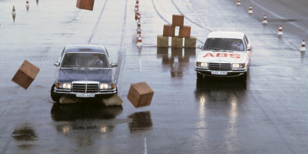 Ya son 40 años del ABS montado en un Mercedes-Benz Clase S