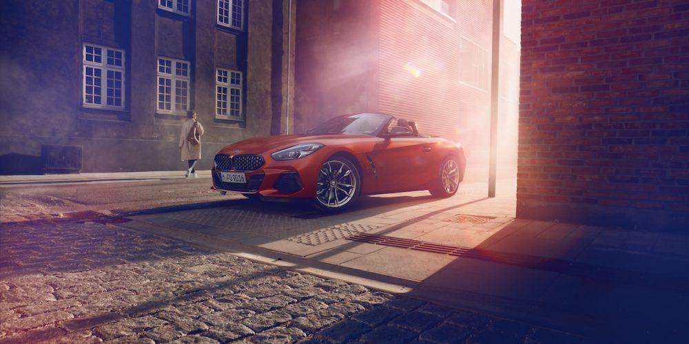 Nuevo BMW Z4 mostrado Pebble Beach