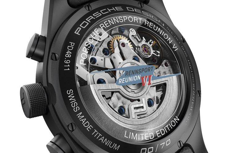 Porsche también hace relojes, y rinde homenaje a los 70 años de la marca y a la Rennsport de este año