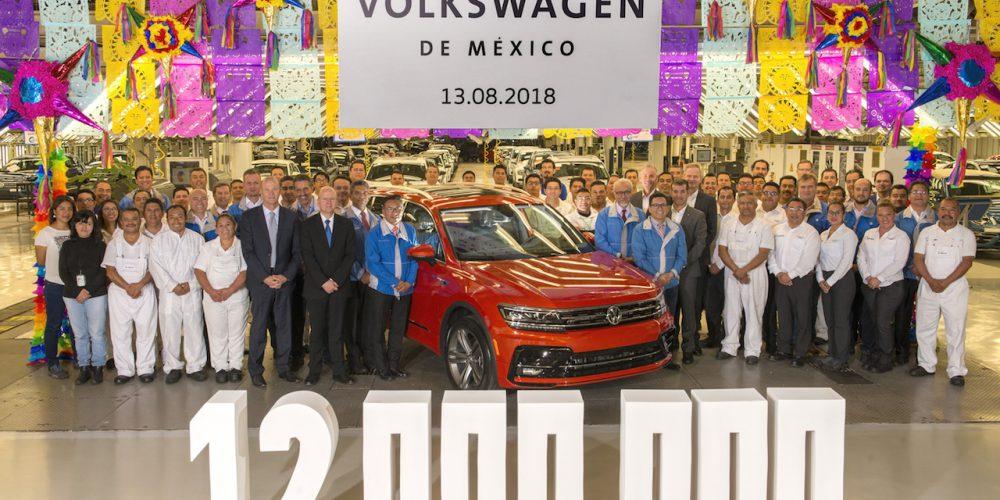 Volkswagen ya fabricó 12 millones de autos en Puebla