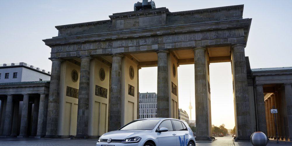 """Volkswagen inicia la era """"We Share"""" de compartir autos eléctricos"""