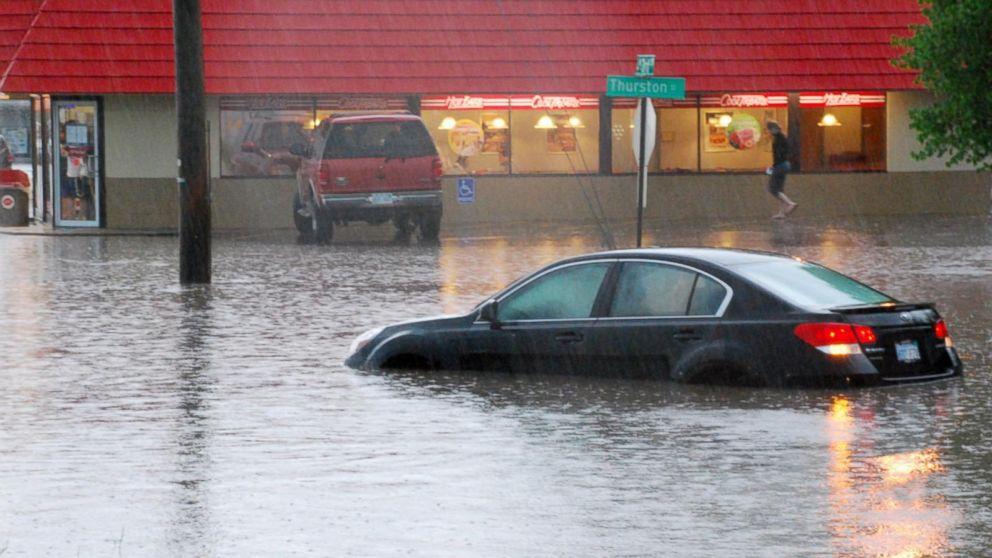 agua inundación
