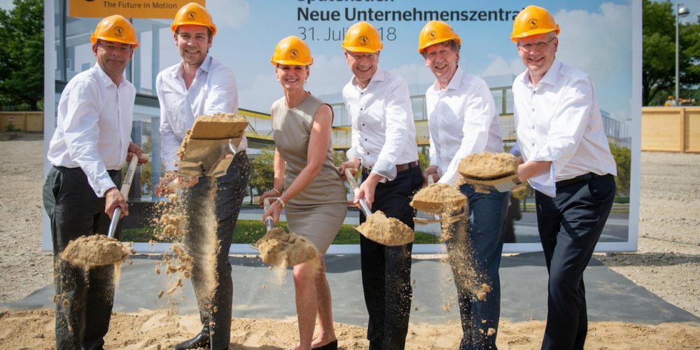 Continental: Colocan la primera piedra para su nueva cede en Hannover, Alemania