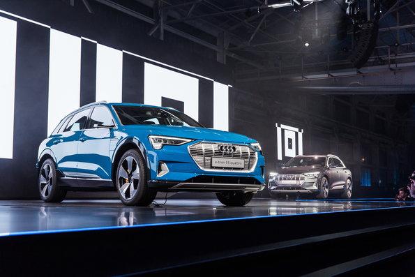 El nuevo Audi E-Tron se presenta a nivel mundial
