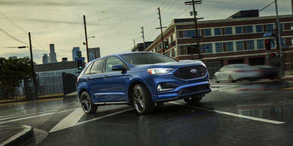 Ford Edge y Edge ST con inteligencia artificial