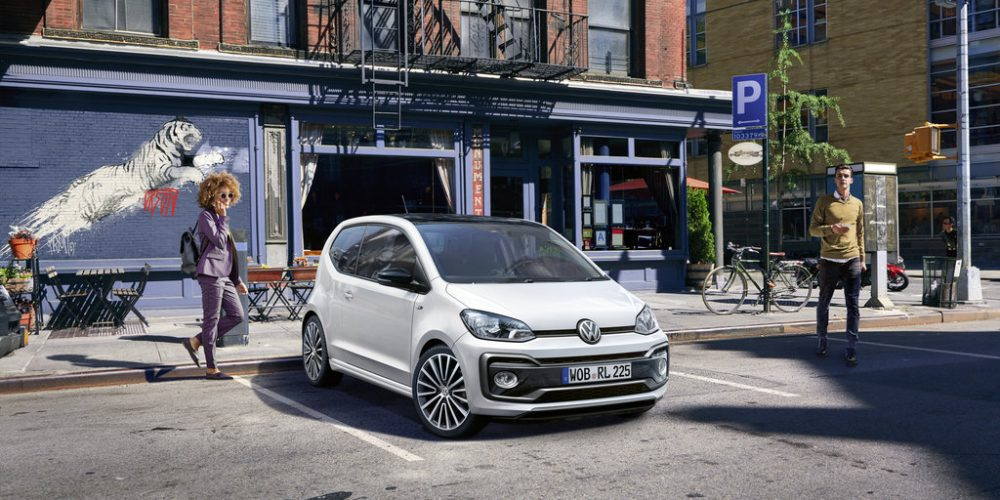 Volkswagen up! TSI R-Line para Europa