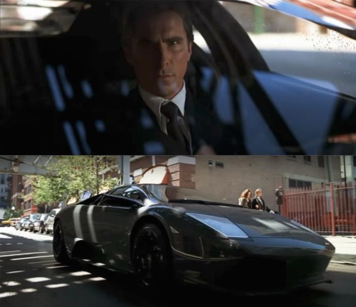 Lamborghini murciélago Bruce Wayne