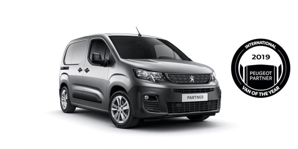 Peugeot Partner: International Van Of The Year 2019
