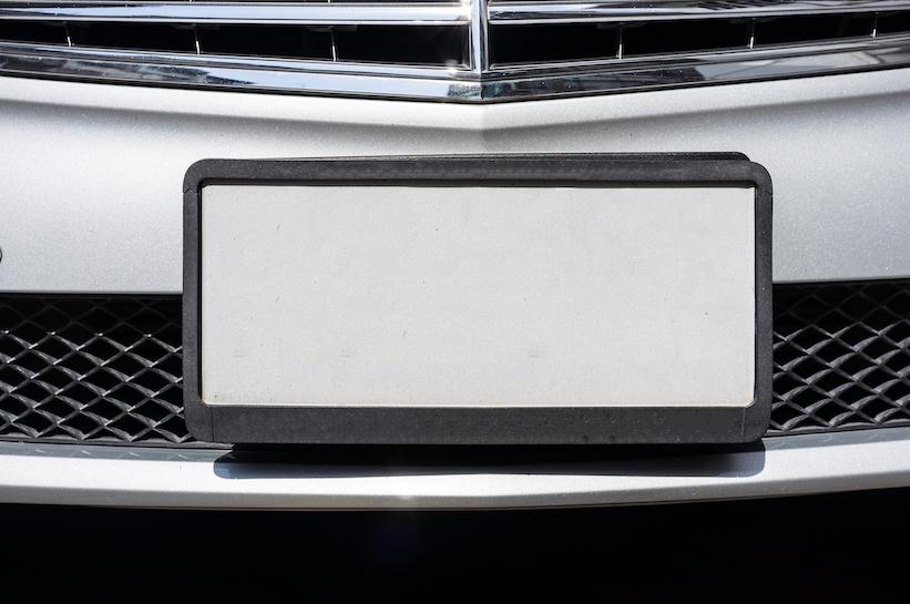 Qué necesitas para dar de baja las placas de un auto
