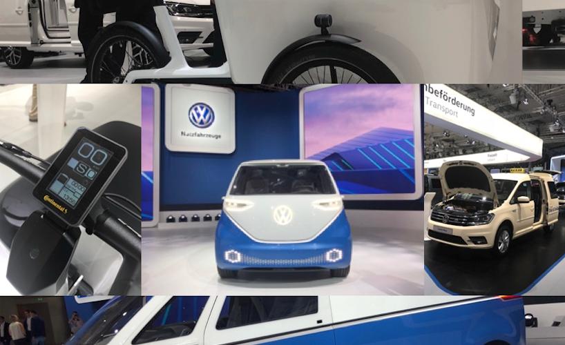 Volkswagen electrifica el transporte