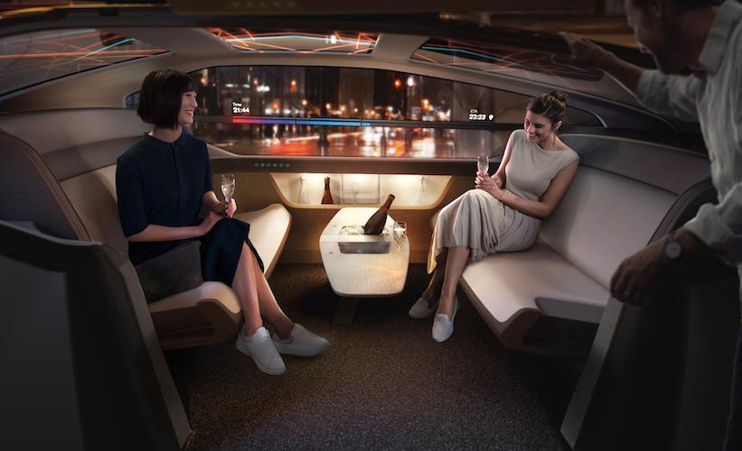 Volvo 360c, desafía el futuro de la transportación