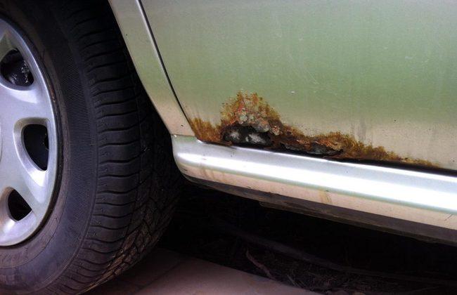 Cómo evitar que el óxido invada tu auto