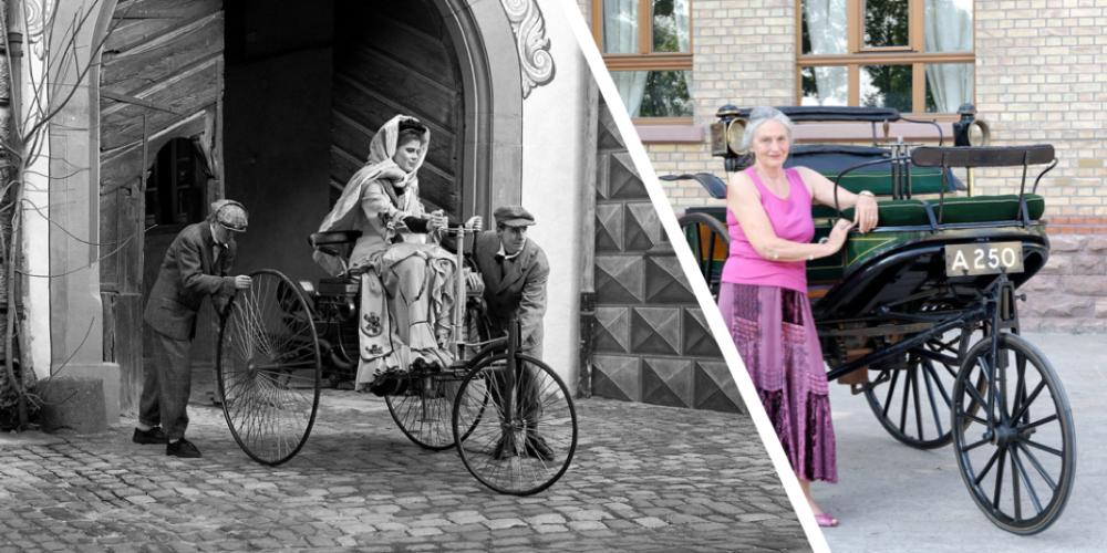 Bertha Benz: la primer mujer piloto que condujo toda una industria por 106 kilómetros, hace 130 años