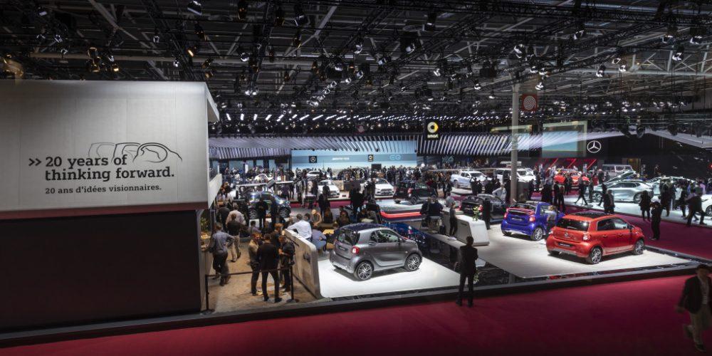 Autoshow de París 2018, SMART se vuelve 100% eléctrico
