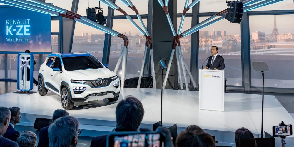 Autoshow de París 2018: Renault presenta en Francia el Renault K-ZE