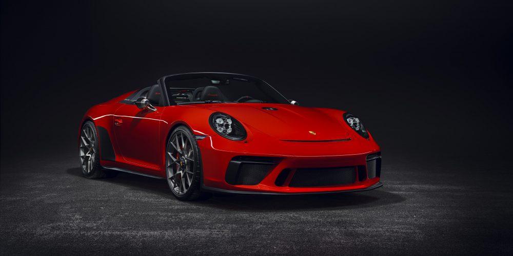 Autoshow de París 2018, Porsche 911 Speedster, 1,948 unidades de colección