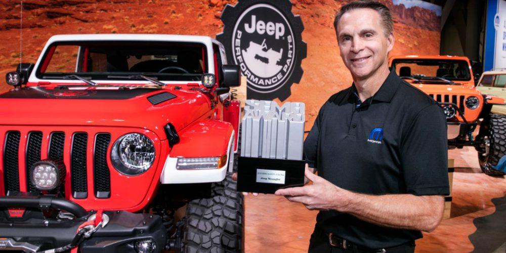 """Jeep Wrangler es nombrado en SEMA """"4X4/SUV del Año"""""""