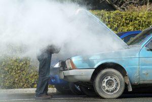 Razones por las que la temperatura del auto sube y baja