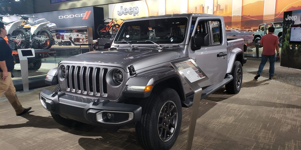 Jeep Gladiator 2020, lanzamiento en Los Ángeles