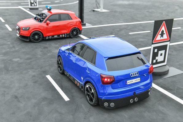La bola de cristal: Los autos se hablarán entre sí y Audi los tiene listos