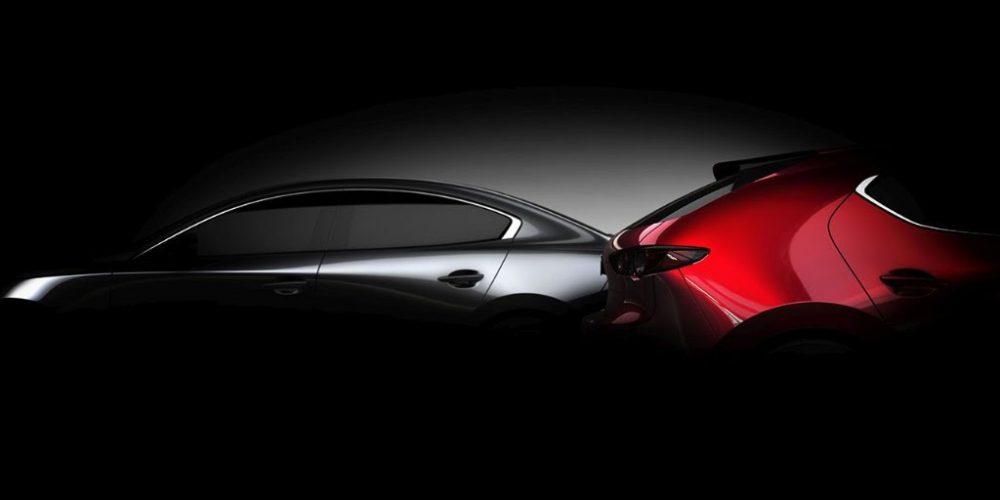 Autoshow de Los Ángeles 2018, El Mazda3 2019 se deja ver aún más