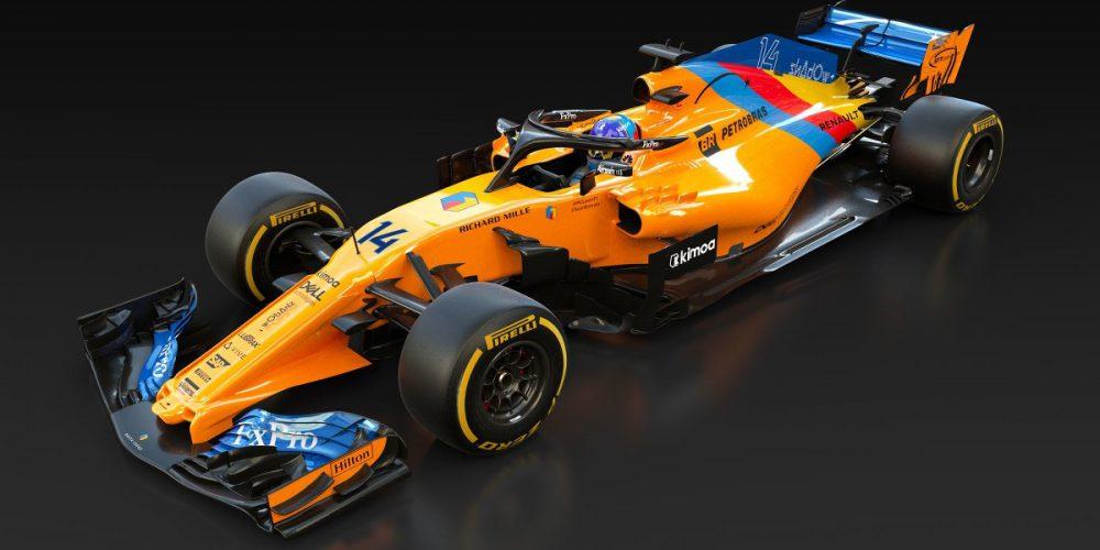 El monoplaza de Fernando Alonso mostrará una decoración diferente en su carrera de despedida