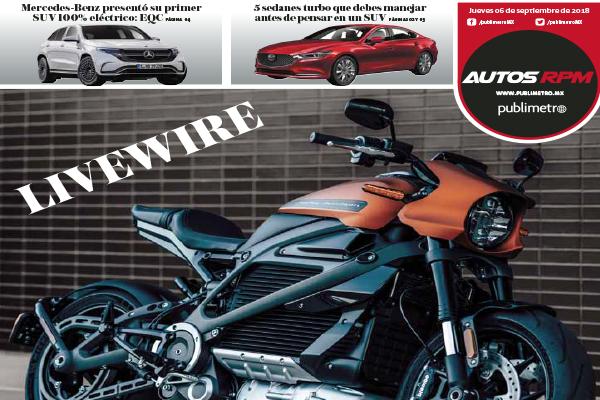Eléctrica, pero 100% Harley-Davidson