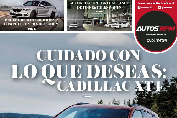 Cuidado con lo que deseas: Cadillac XT4