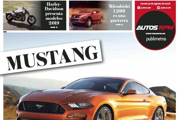 Mustang ¡Caballo de Fuerza!