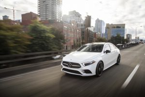 Die neue Mercedes-Benz A-Klasse Limousine. Seattle 2018The all-new Mercedes-Benz A-Class Sedan. Seattle 2018
