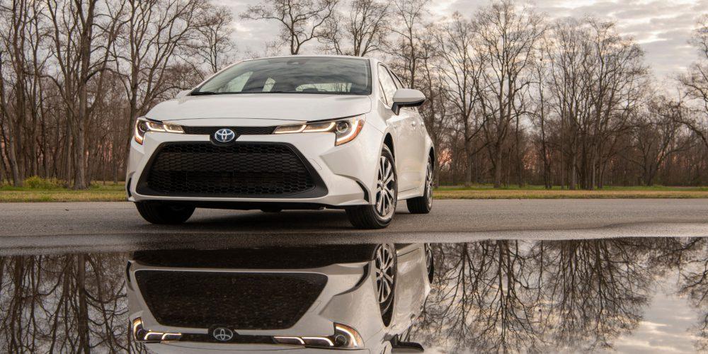 Corolla Hybrid, manejo eficiente y atractivo
