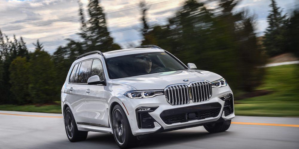 BMW X7, grande tipo XXL