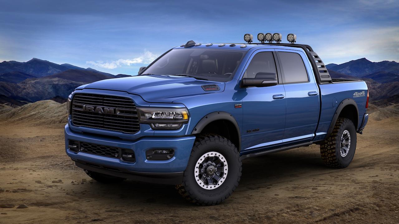 Auto Show de Chicago 2019, Mopar presenta la Ram 2500 Heavy Duty 2019
