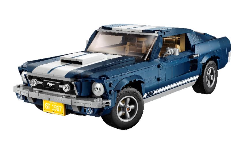 Llega el icónico Ford Mustang 1967 en versión LEGO