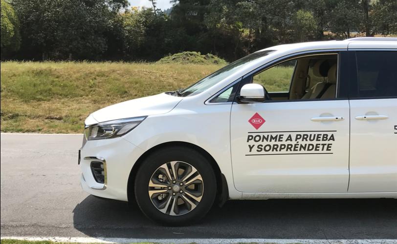 Probamos los sistemas de seguridad de KIA Sportage y Sedona 2019; así les fue